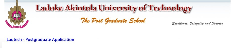 LAUTECH Postgraduate 1st Batch Admission List