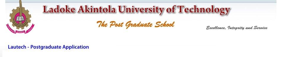 LAUTECH Postgraduate 1st Batch Admission List