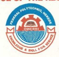 Federal Polytechnic Nekede Supplementary Admission List (Evening & Weekend) 2016/2017