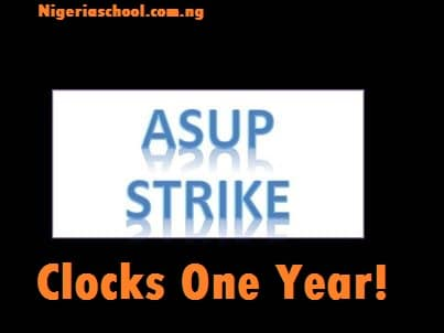 Asup Strike Clocks One Year - Nigeria is Educationally Disadvantaged