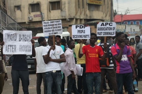ASUP Strike: Polytechnic Students Continue Protest, Slaughters Cow for Celebration?