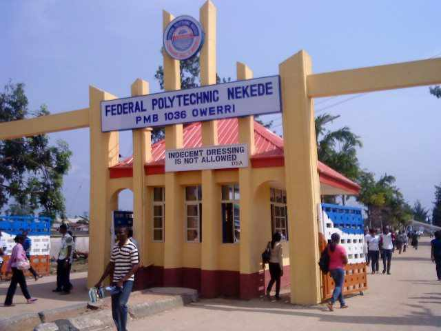 Federal Polytechnic Nekede HND Admission List