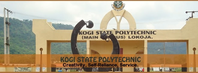 Kogi State Polytechnic Post UTME Form