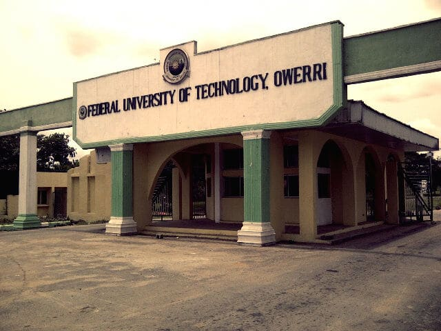 federal university of technology, owerri, futo