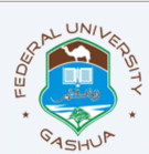 Federal University Gusau pre-degree application form