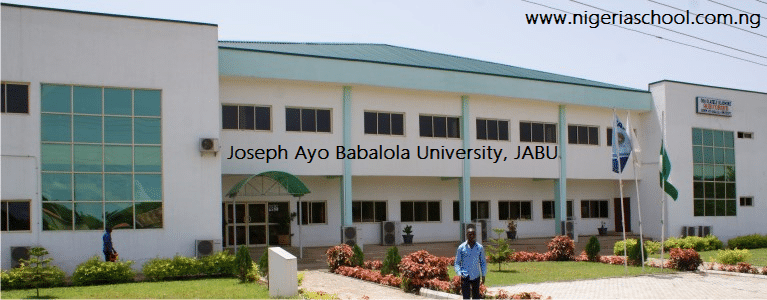 Joseph Ayo Babalola University School Fees Schedules