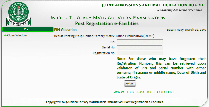 eecd74c76d How to Check JAMB CBT Result with E-Facility Card - 2016 17