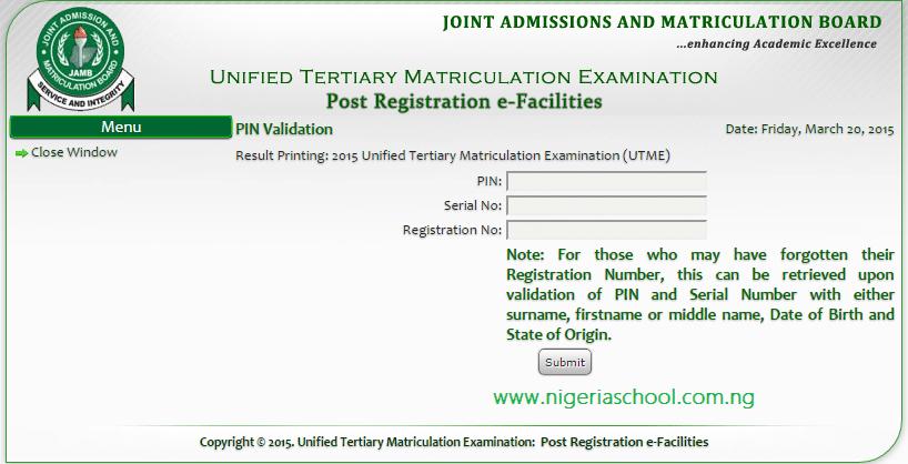 e-facility card