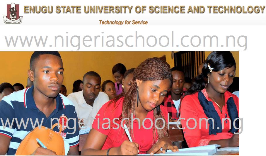 ESUT 2014/2015 Academic Calendar Released