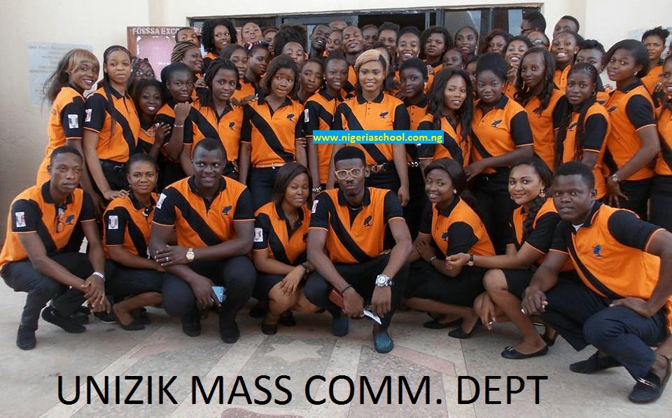 UNIZIK Mass Com. Dept. Launches New Departmental T-Shirt