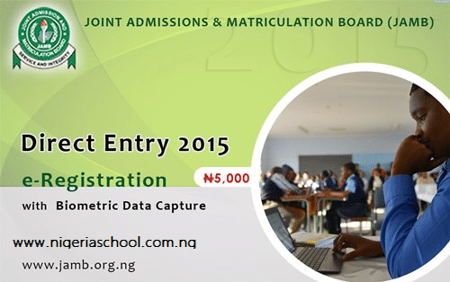 JAMB 2015 Direct Entry Sales of Scratch Card and Registration Postponed