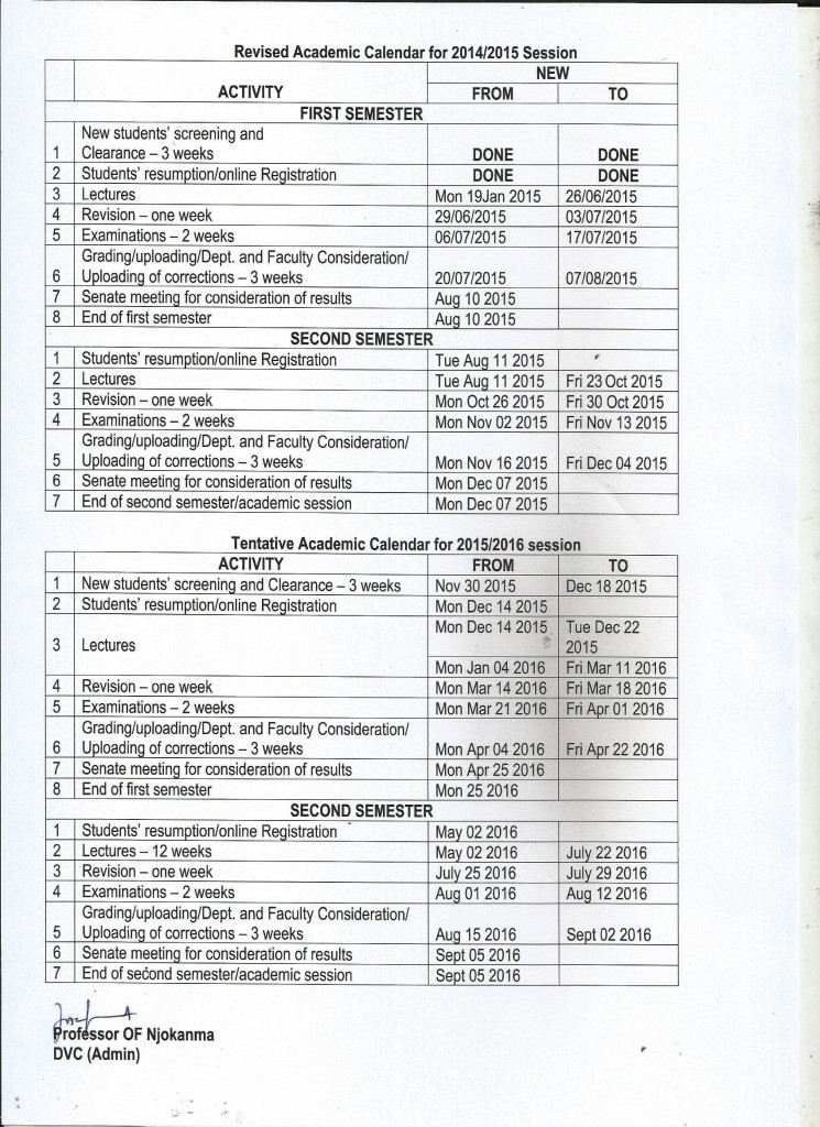 LASU_Revised_Academic_calendar