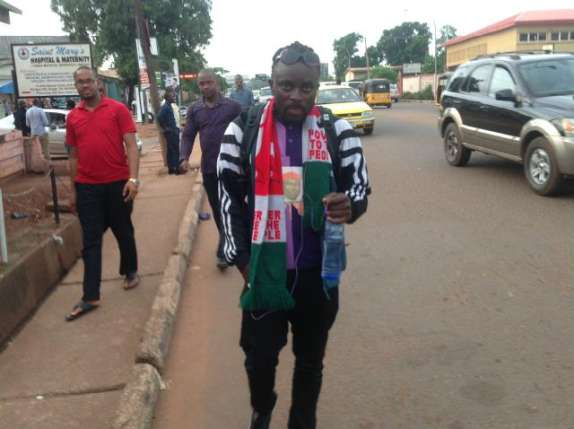 Breaking: UNN student turned back at govt house gate after trekking 50km to meet governor