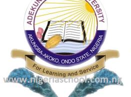 Adekunle Ajasin University, Akungba, AAUA