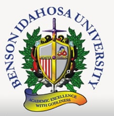 Benson Idahosa University, BIU Undergraduate Admission 2015/2016