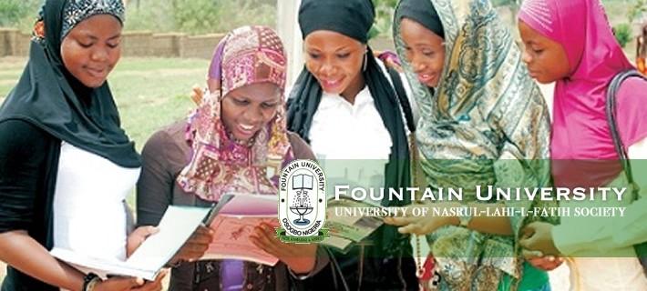 Fountain University Post UTME form