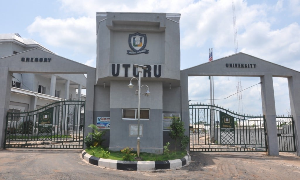 Gregory University Post-UTME form