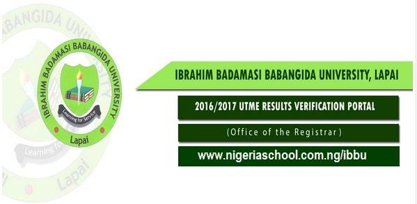 Ibrahim Badamasi Babangia University, Lapai, IBBU 2016/2017 Admission Screening Exercise