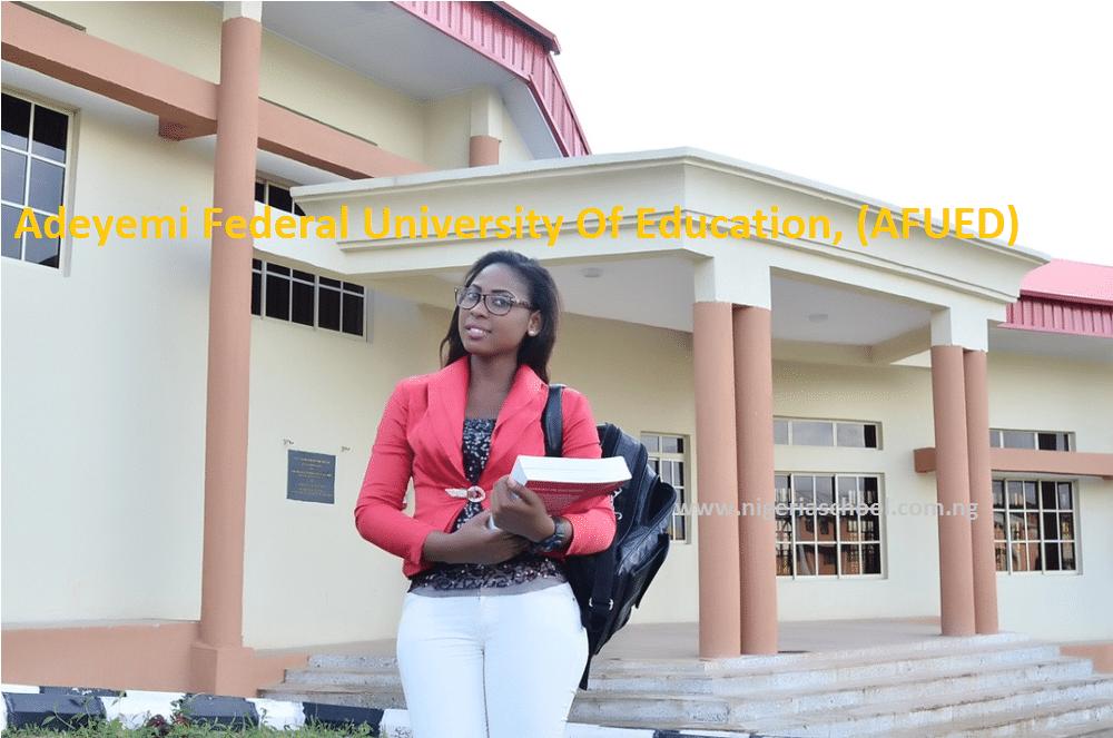Adeyemi Federal University Of Education Post-UTME form