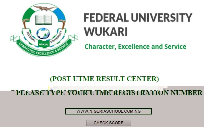FUWUKARI Post-UTME 2015 Result Released