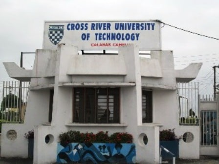 Cross River University of Technology, CRUTECH Post UTME Form