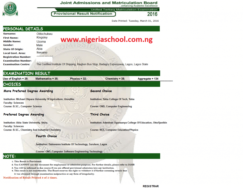 JAMB_2016_Unified_Tertiary_Matriculation_Examination_e-Registration_-_Result_Slip