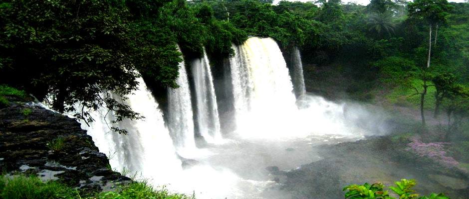 Agbokim water fall in Etung L.G.A of cross river state Nigeria