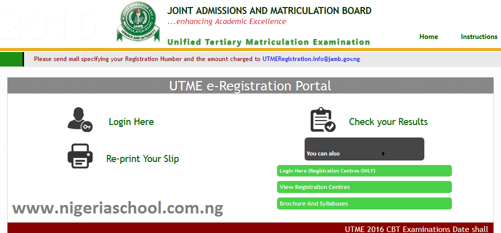 Check Jamb Result without Scratch Card