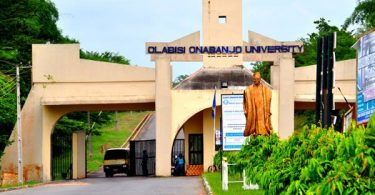 Olabisi Onabanjo University, (OOU) Ago Iwoye