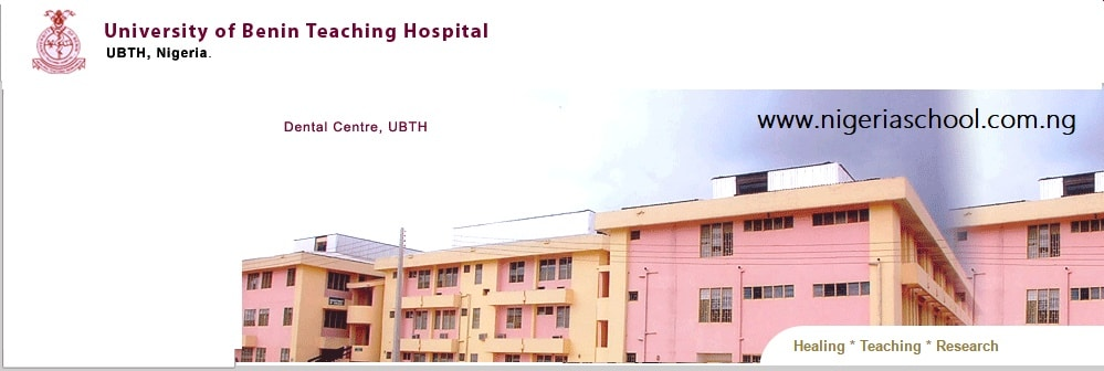 UNIBEN Teaching Hospital School of Nursing Form
