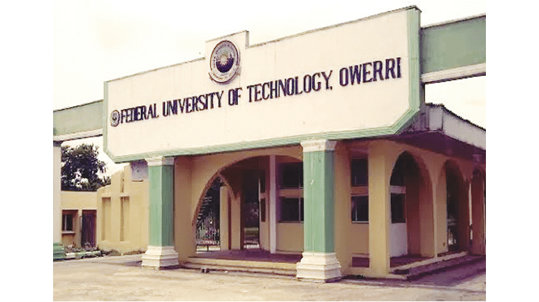 FUTO Direct Entry Admission List out