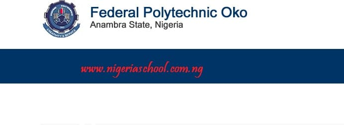 Federal Polytechnic Oko 2nd ND Admission List - 2016/2017
