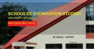 unilag foundation supplementary list