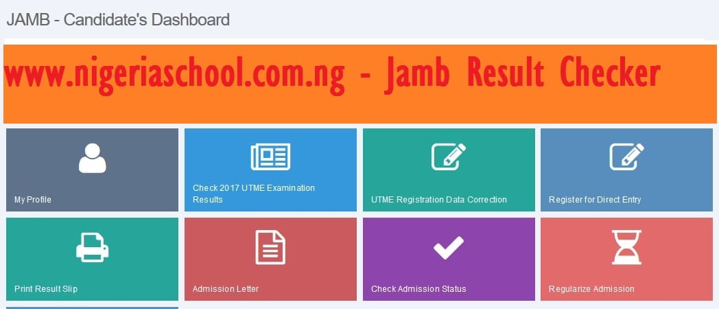check jamb result 2017
