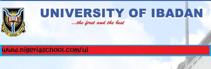 University of Ibadan Postgraduate Form