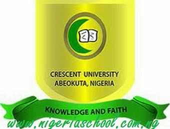 Crescent University, Abeokuta Post UTME Admission Form