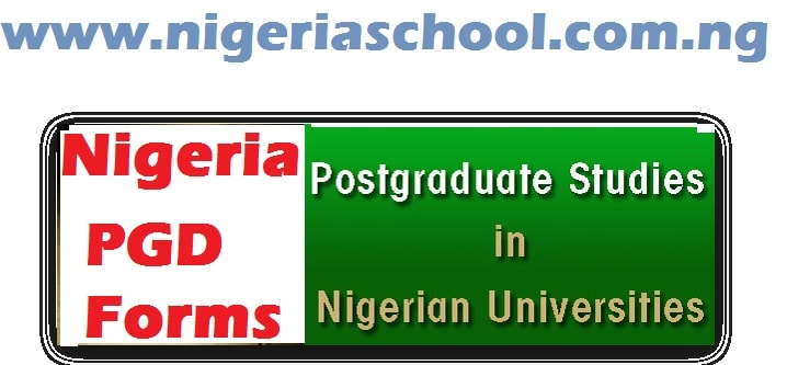 postgraduate admissions in nigerian universities