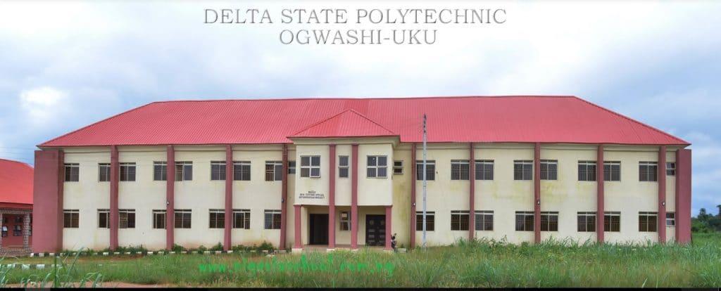 Delta Poly Ogwashi Uku Part-time Admission Form (ND & HND) - 2017/18