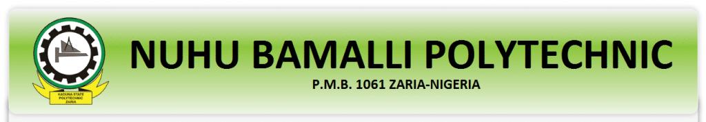 Nuhu bamalli Polytechnic, NUBAPOLY ND Admission List
