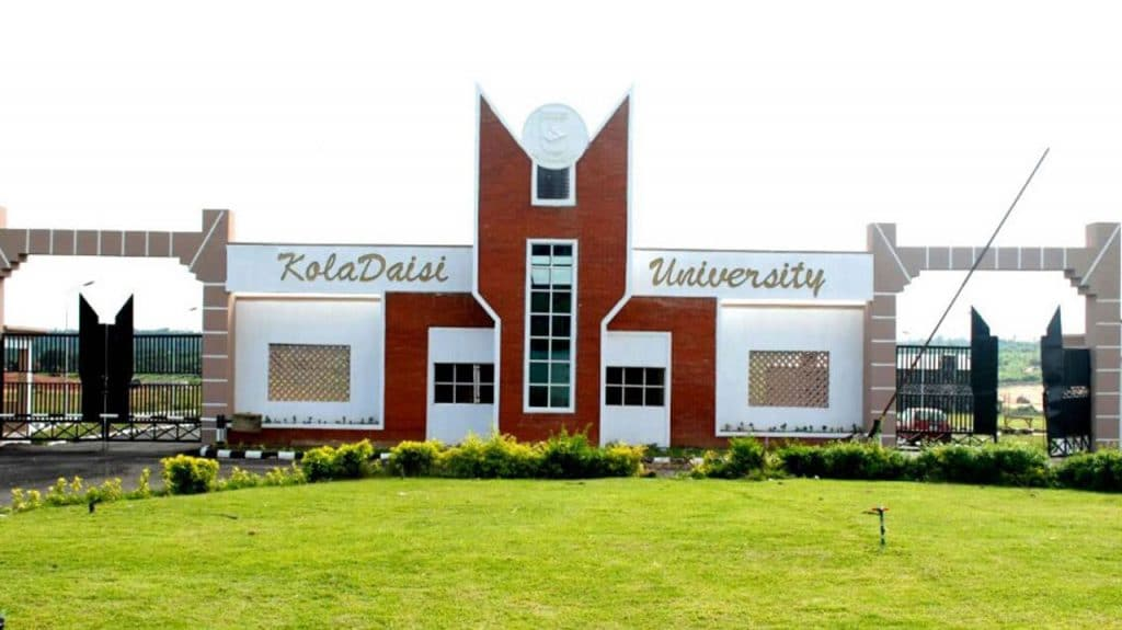 KolaDaisi University post utme