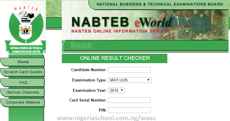 NABTEB May/June Results
