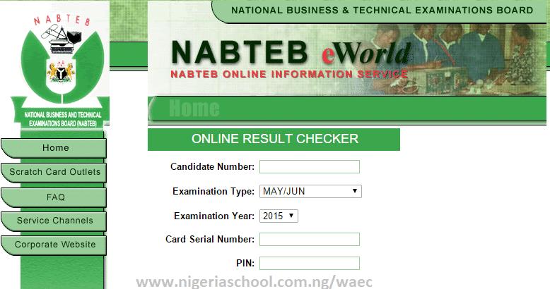 NABTEB May/June Results