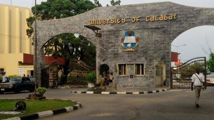 university of calabar cut off mark
