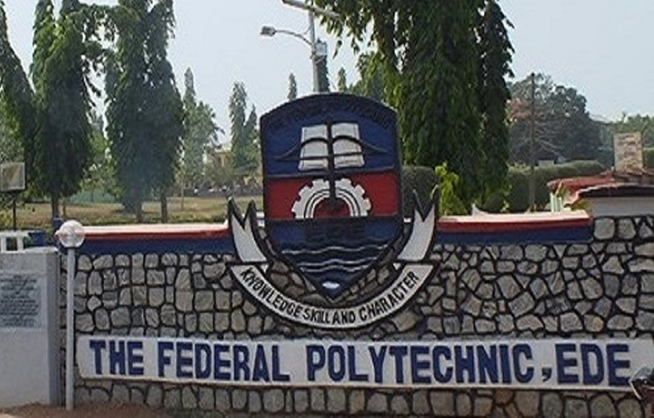Federal Polytechnic Ede ND Full-Time Admission List