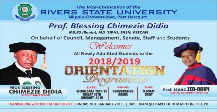 RSU orientation programme