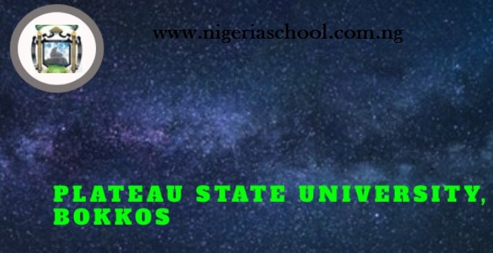 Plateau State University post utme form